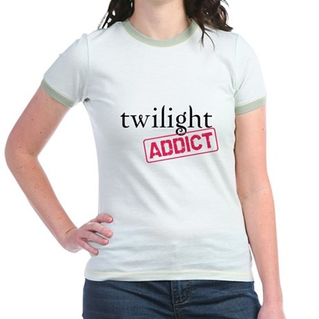 Twilight Addict Jr. Ringer T-Shirt