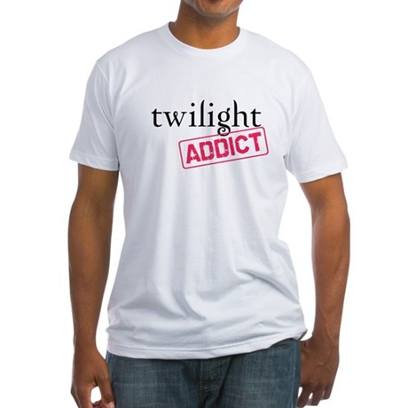 Twilight Addict Fitted T-Shirt