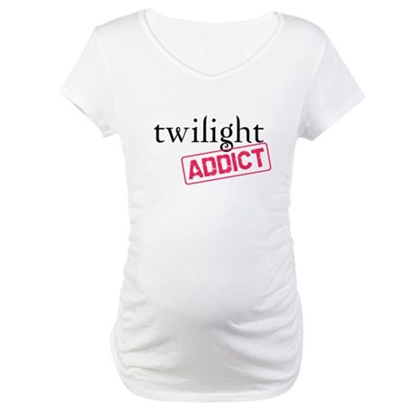 Twilight Addict Maternity T-Shirt