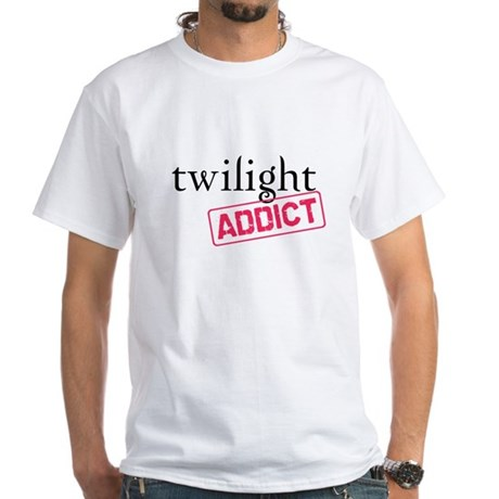 Twilight Addict White T-Shirt