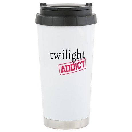 Twilight Addict Ceramic Travel Mug