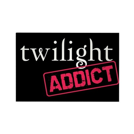 Twilight Addict Rectangle Magnet (10 pack)