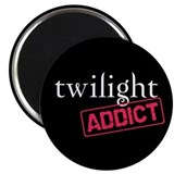 Twilight Addict 2.25&quot; Magnet (10 pack)