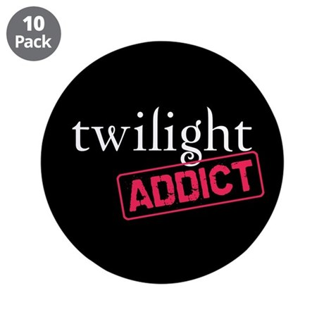 "Twilight Addict 3.5"" Button (10 pack)"