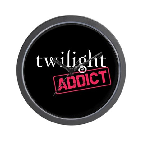 Twilight Addict Wall Clock