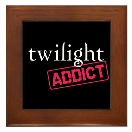 Twilight Addict Framed Tile