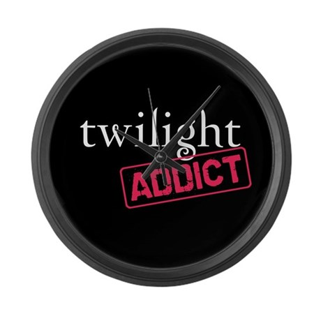 Twilight Addict Large Wall Clock