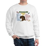Dachshund Property Laws 4  Sweatshirt
