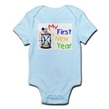 My First New Year Infant Bodysuit