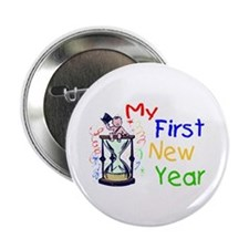 "My First New Year 2.25"" Button"