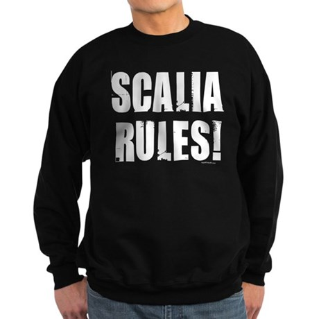 Scalia Rules Sweatshirt (dark)