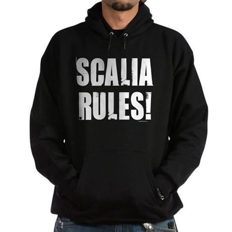 Scalia Rules Hoodie (dark)