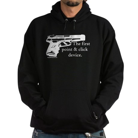 The first point & click devic Hoodie (dark)