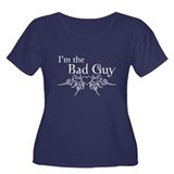 I'm the Bad Guy Women's Plus Size Scoop Neck Dark