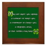 Irish Blessing - Framed Tile