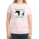 So few Tapirs Women's Pink T-Shirt