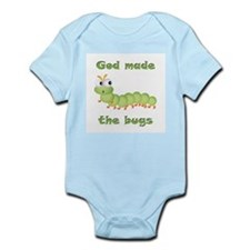 God Made Bugs Infant Bodysuit