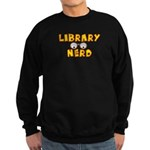 Library Nerd Sweatshirt (dark)
