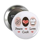 Peace Love Cook Chef 2.25