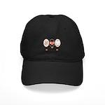 Peace Love Cook Chef Black Cap