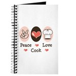 Peace Love Cook Chef Journal