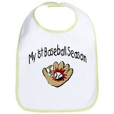 My First Baseball Season Bib