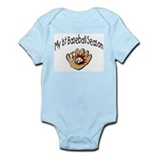 My First Baseball Season Infant Bodysuit
