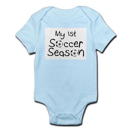 My First Football Season Infant Bodysuit