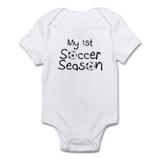 My First Football Season Infant Bodysuit