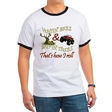Drivin' Trucks & Huntin' Bucks T
