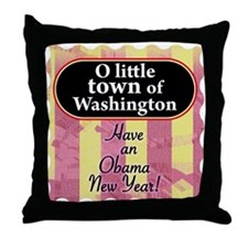 O little town of Washington Throw Pillow