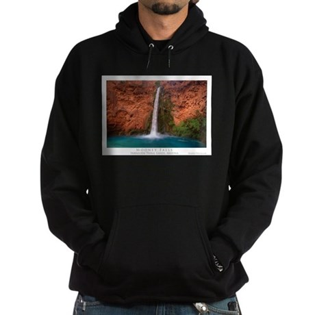Mooney Falls and Pool Hoodie (dark)