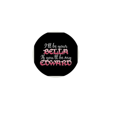 Be My Edward Twilight Mini Button (100 pack)
