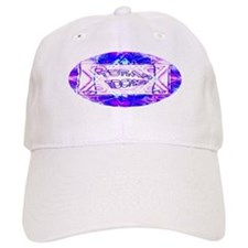 Torah Rocks (Blue & Purple) Baseball Cap