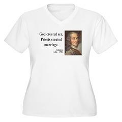 Voltaire 16 Women's Plus Size V-Neck T-Shirt