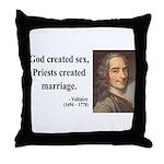 Voltaire 16 Throw Pillow