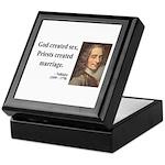 Voltaire 16 Keepsake Box
