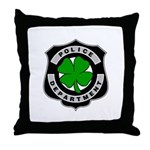 Irish Police Throw Pillow