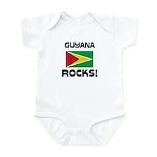 Guyana Rocks! Infant Bodysuit