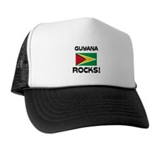 Guyana Rocks! Trucker Hat