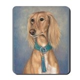Saluki (Red) Mousepad