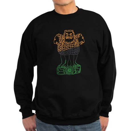 Indian National Emblem Sweatshirt (dark)