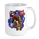 Santa Paws Large Mug
