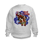 Santa Paws Kids Sweatshirt