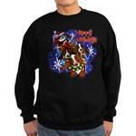 Santa Paws Sweatshirt (dark)