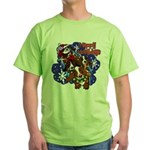 Santa Paws Green T-Shirt