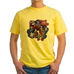 Santa Paws Yellow T-Shirt