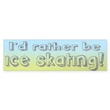 Figure Skating Bumper Sticker (10 pk)