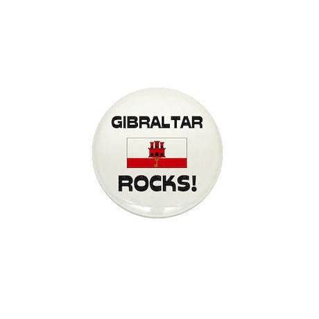Gibraltar Rocks! Mini Button