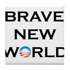 Brave New World Tile Coaster